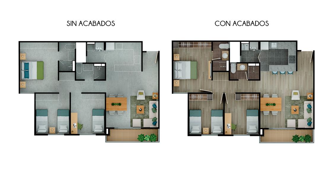 proyecto de vivienda en zipaquira, constructora bolívar