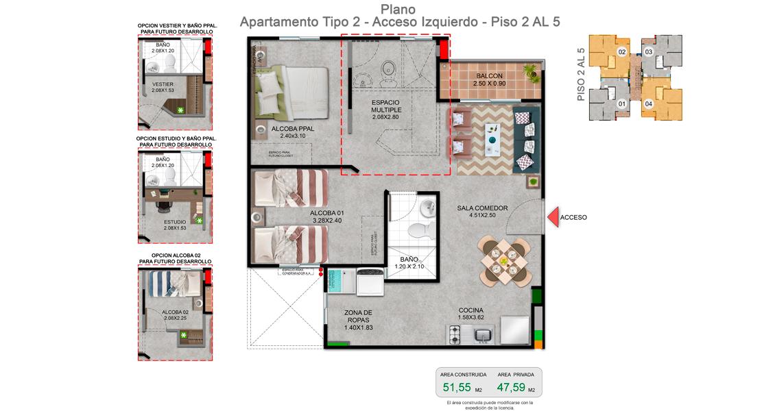 proyecto de apartamentos con subsidio de vivienda en cali.