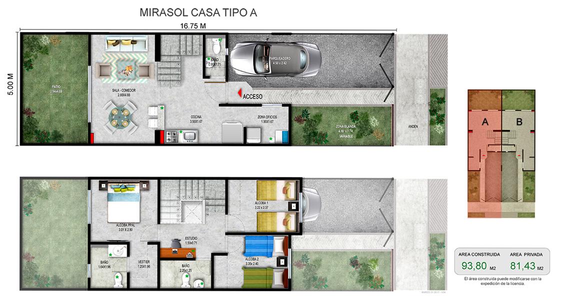 proyecto de vivienda en cali,  constructora bolivar