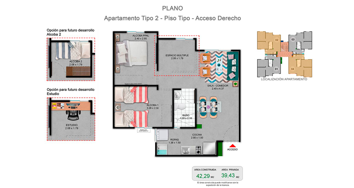 proyecto de apartamentos en jamundi, con subsidio de vivienda constructora bolivar