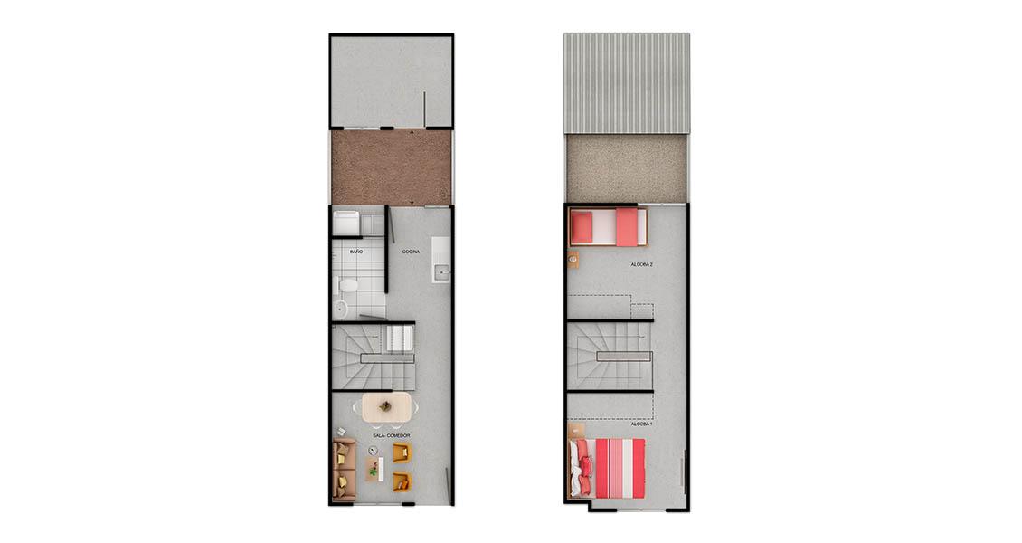 Nuevo proyecto de casas en Cartagena Constructora Bolívar.