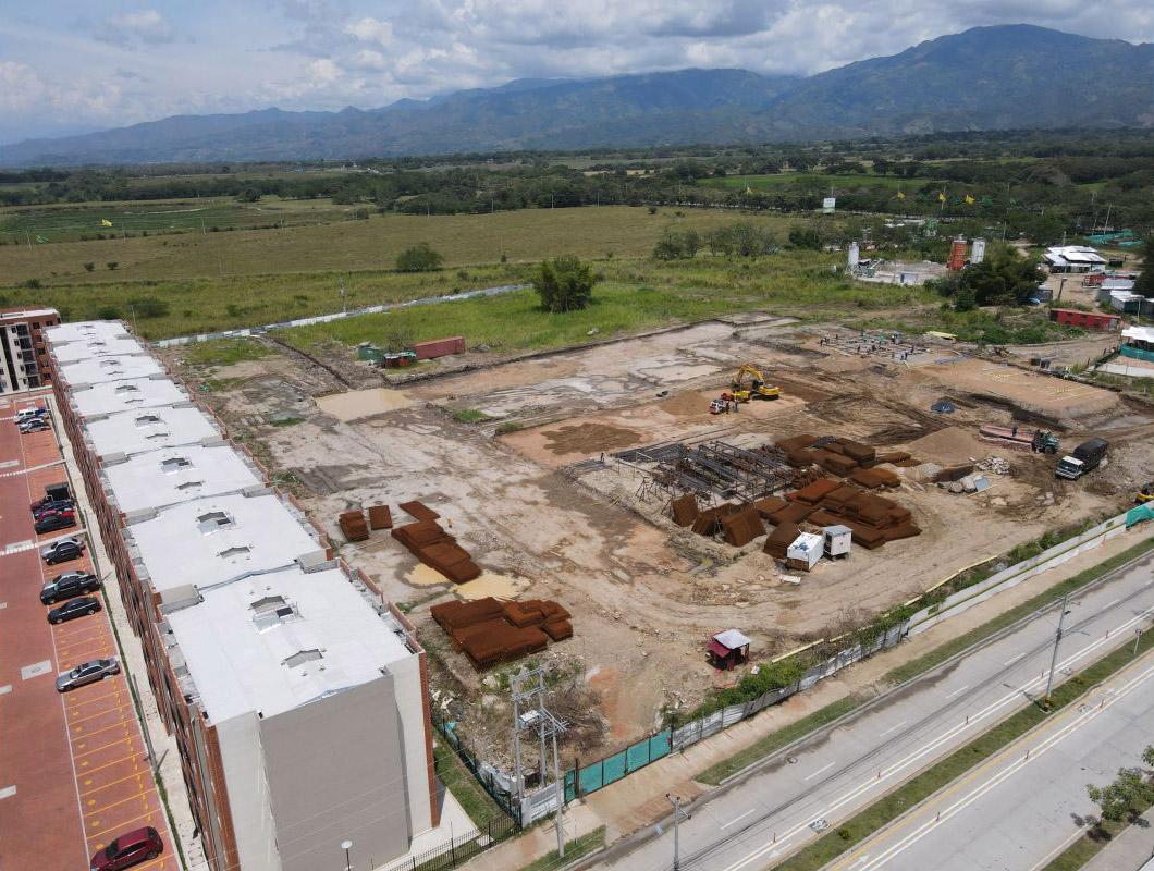 Avance de obra Ceiba agosto 2021