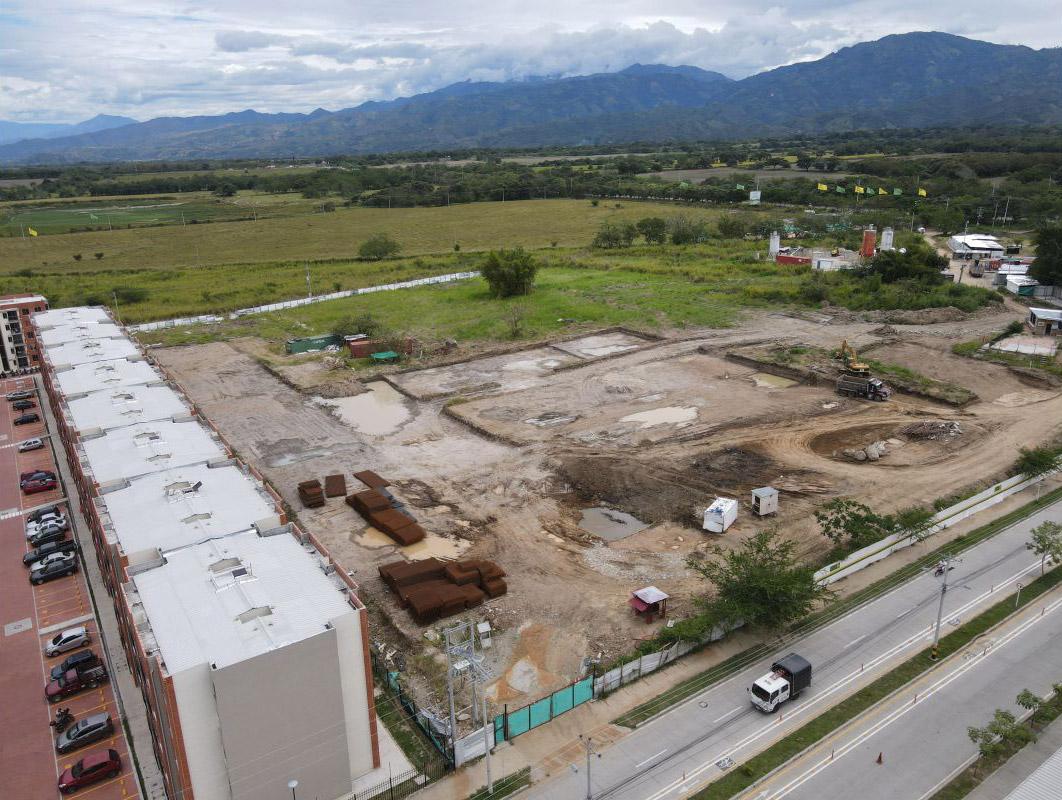Avance de obra Ceiba Julio 2021