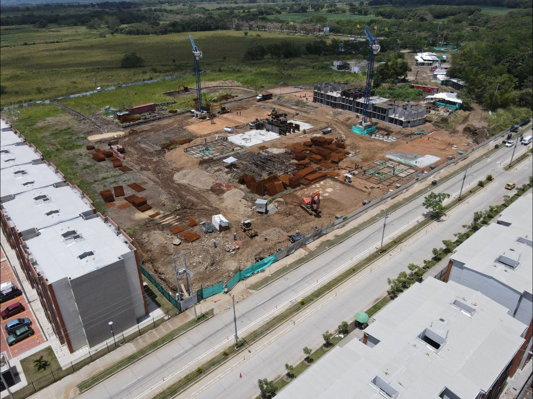 Avance de obra Ceiba Septiembre 2021