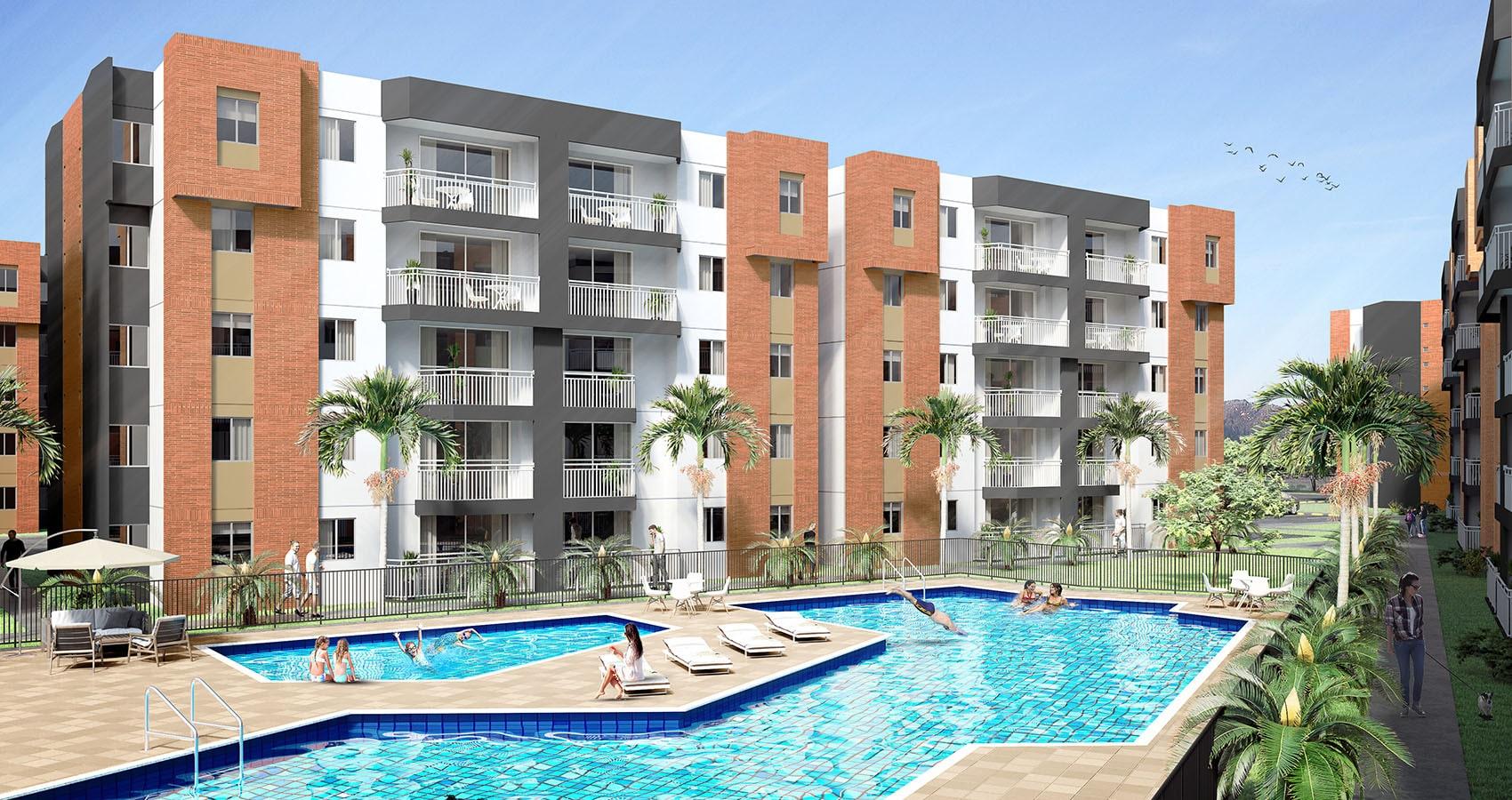 jacaranda proyecto de apartamentos en el Valle del Cauca, constructora bolívar
