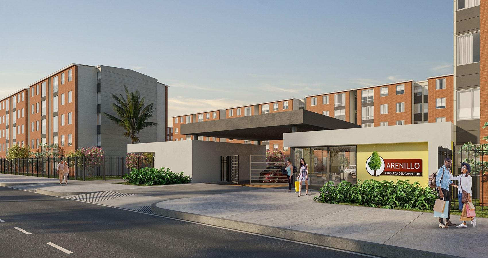 Proyecto de apartamentos en Tolima