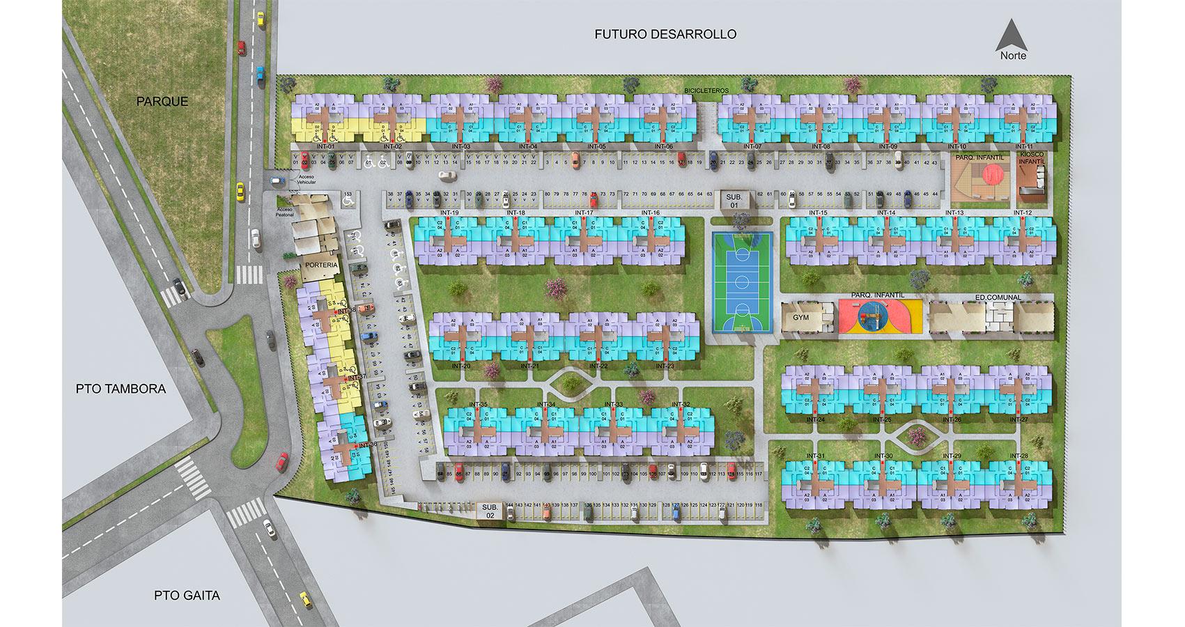 Puerto Armónica, proyecto de apartamentos en Soledad.