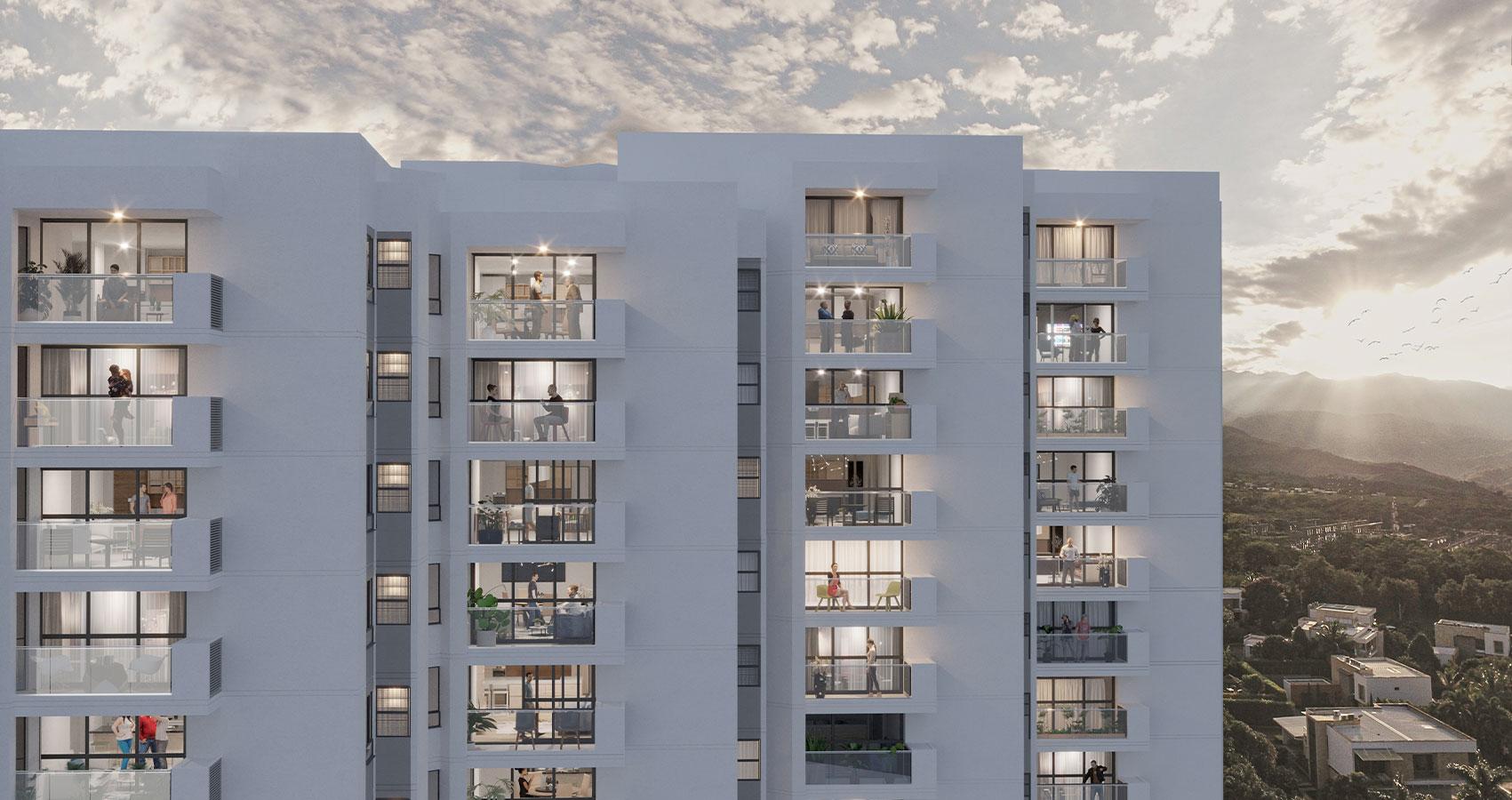 apartamentos en Pance sur cali constructora bolívar