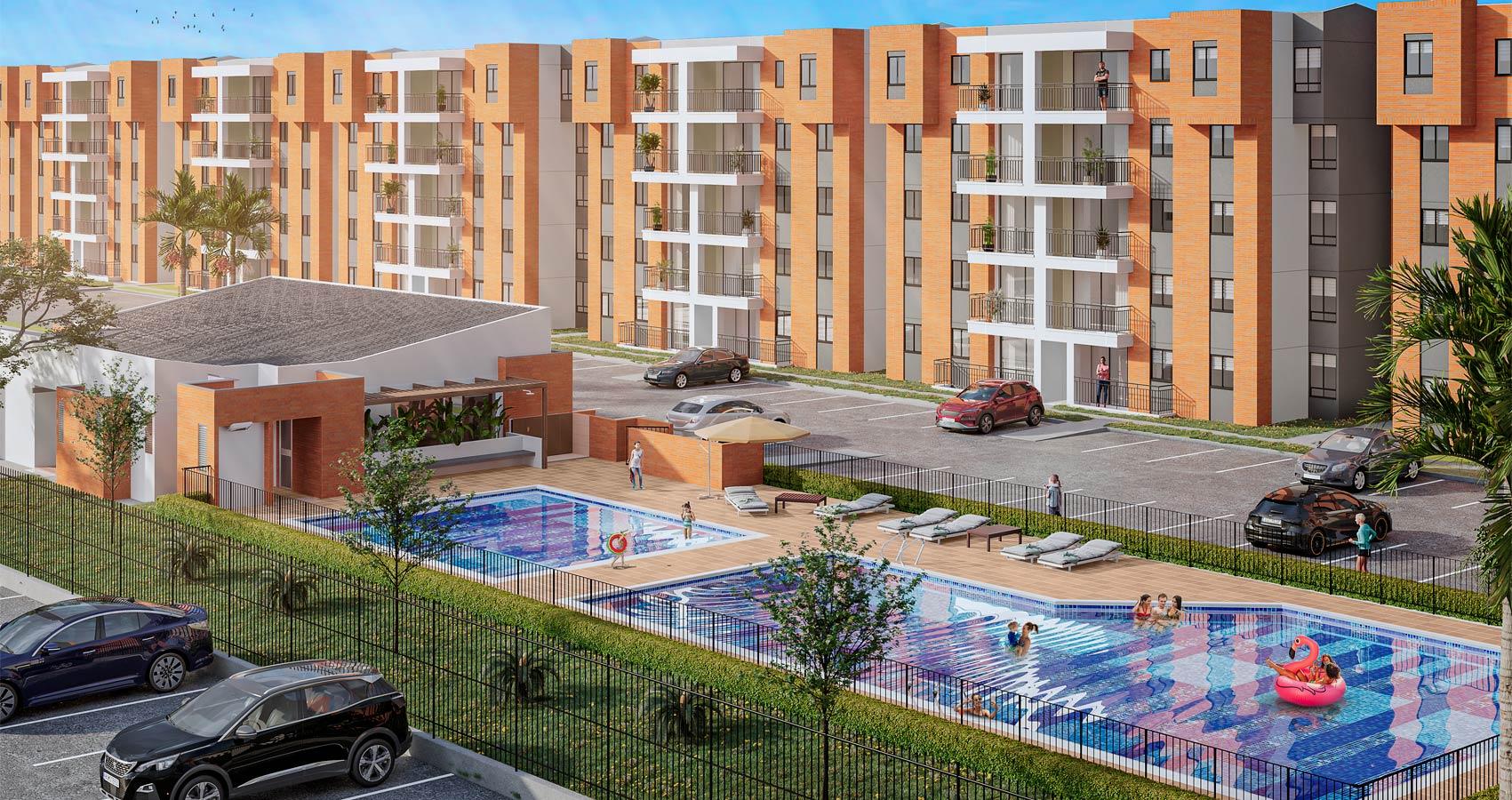 proyecto de apartamentos en cali, con subsidio de vivienda, constructora bolivar