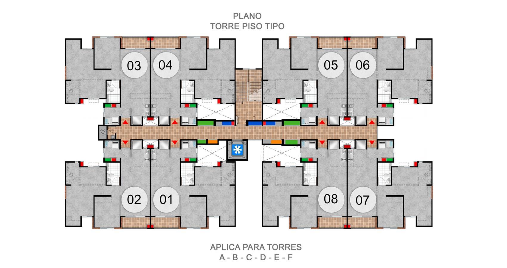 caracoli proyecto de vivienda en valle del lili, constructora bolivar