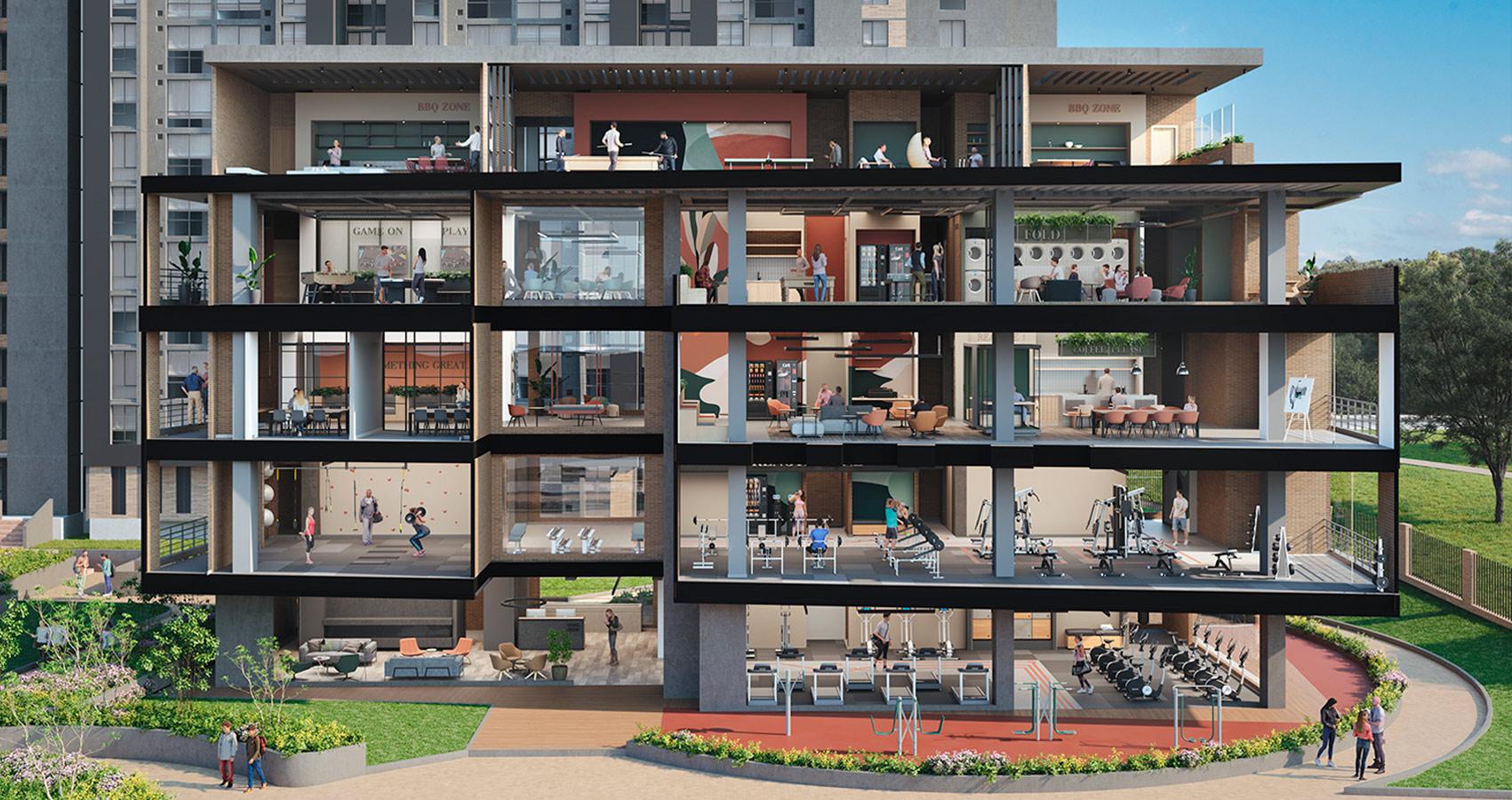 Veramonte Living proyecto living Bogotá Constructora Bolívar