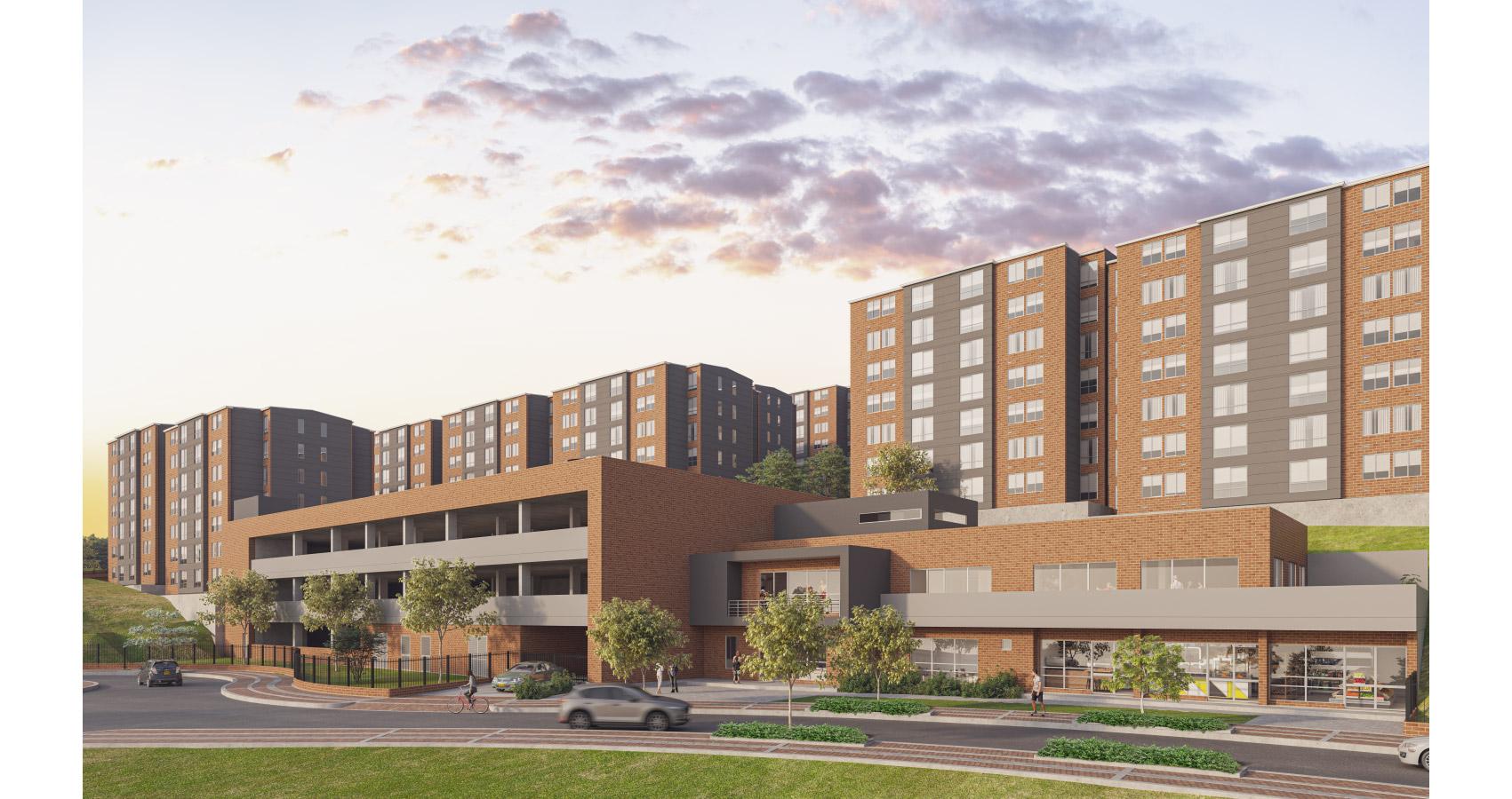 Los Alisos proyecto con subsidio de vivienda en Bogotá Constructora Bolívar.