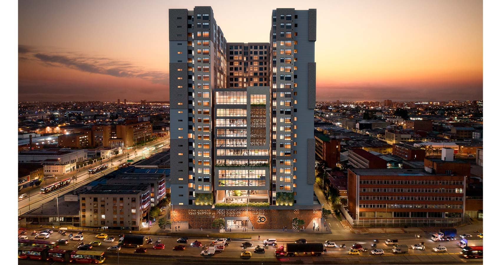 Urbana 30 proyecto de vivienda