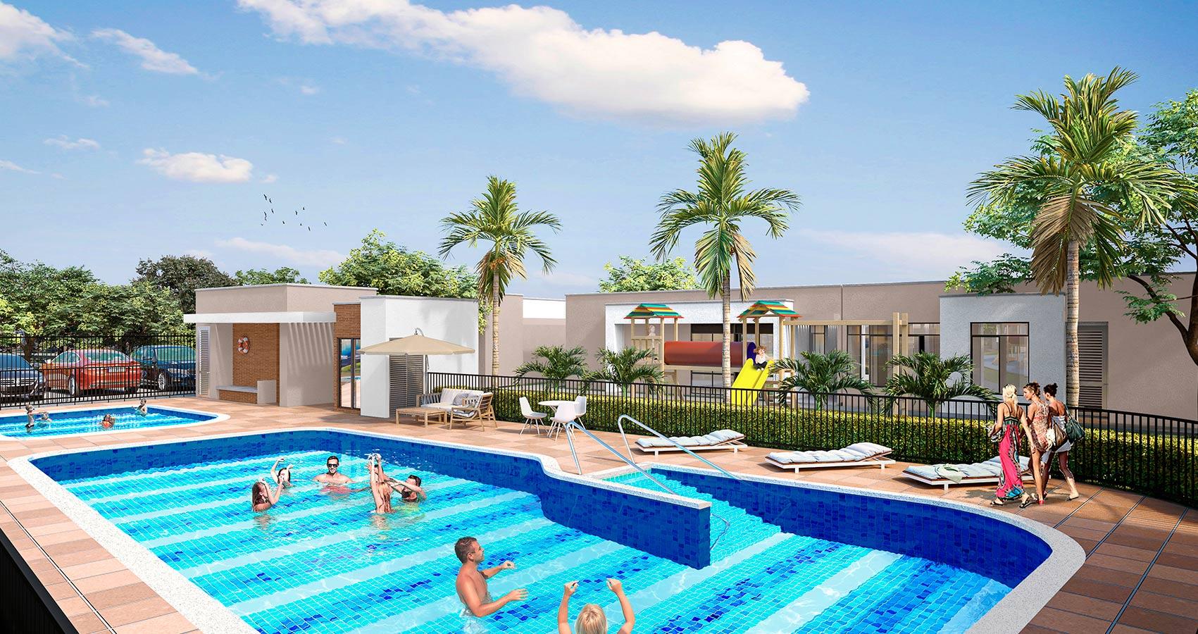 Recanto proyecto de vivienda en Jamundi, Constructora Bolivar