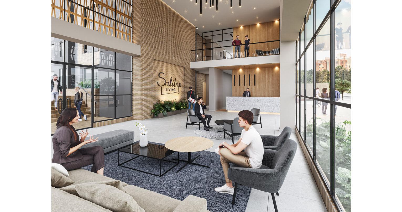 Salitre Living proyecto de apartamentos en Bogota Constructora Bolivar