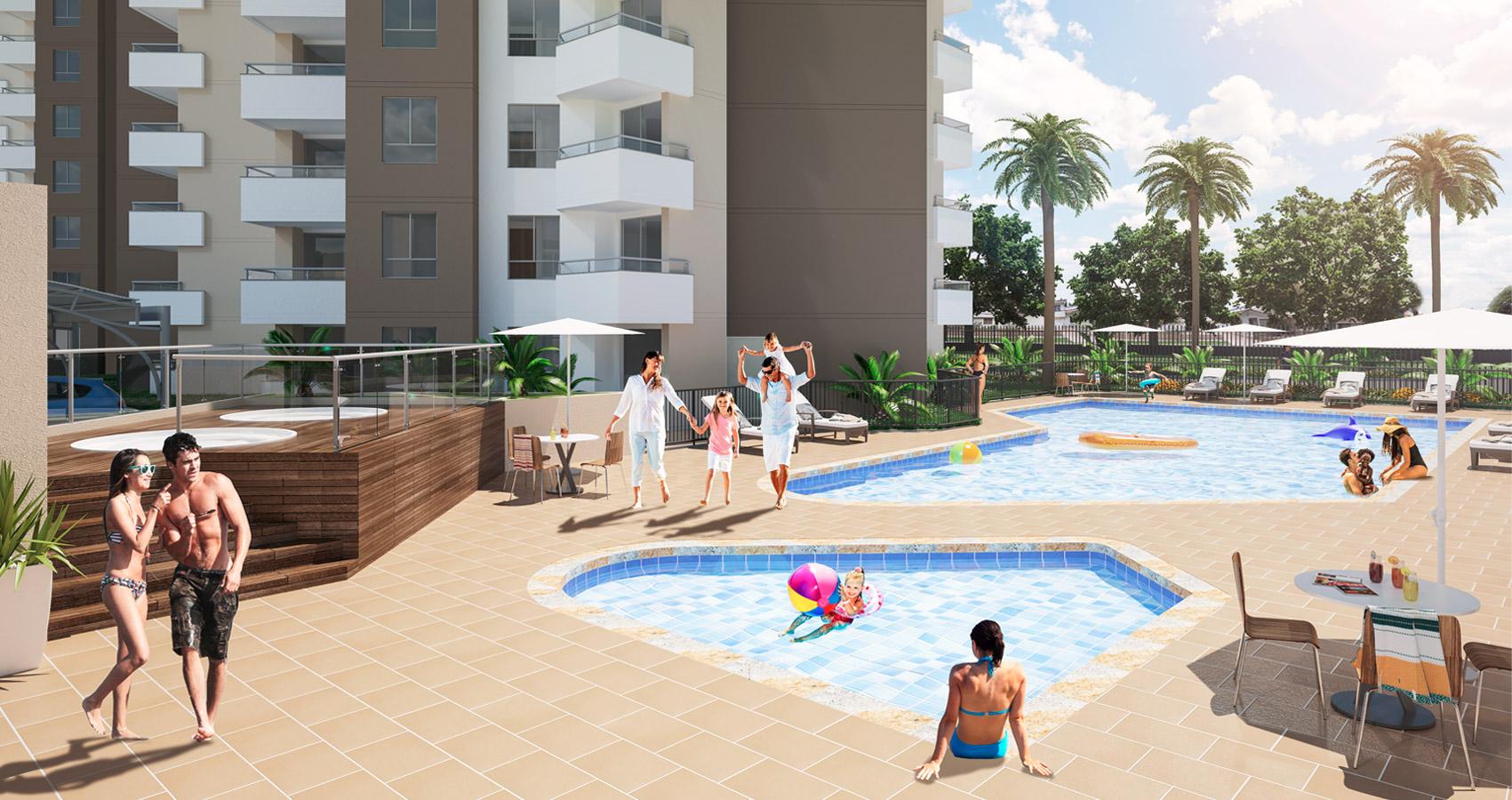 proyecto de apartamentos en la flora, cali, constructora bolivar