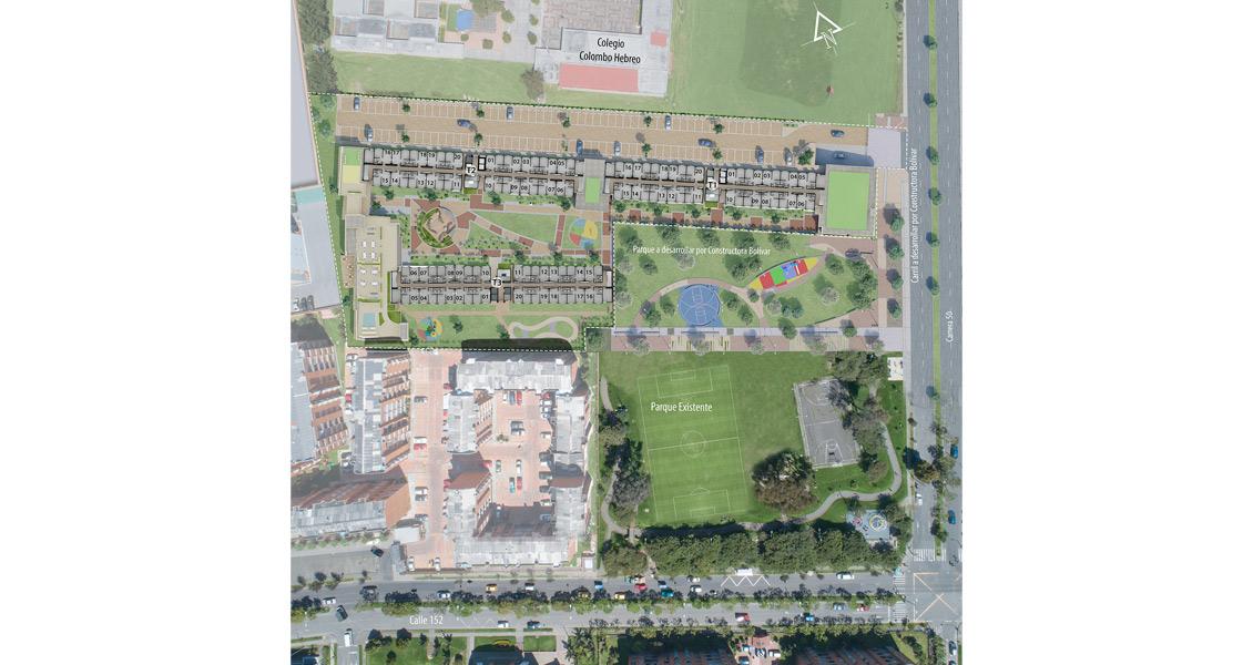 Planta urbana park living
