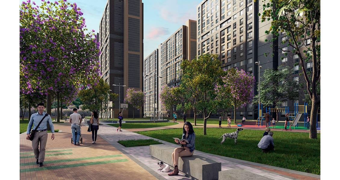 park living proyecto de vivienda en Bogotá Constructora Bolívar