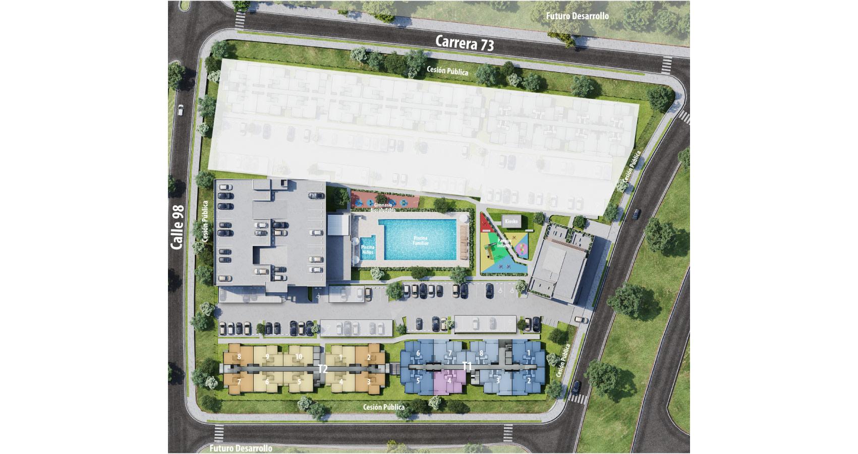 Catleya proyecto de apartamentos en Villa Carolina