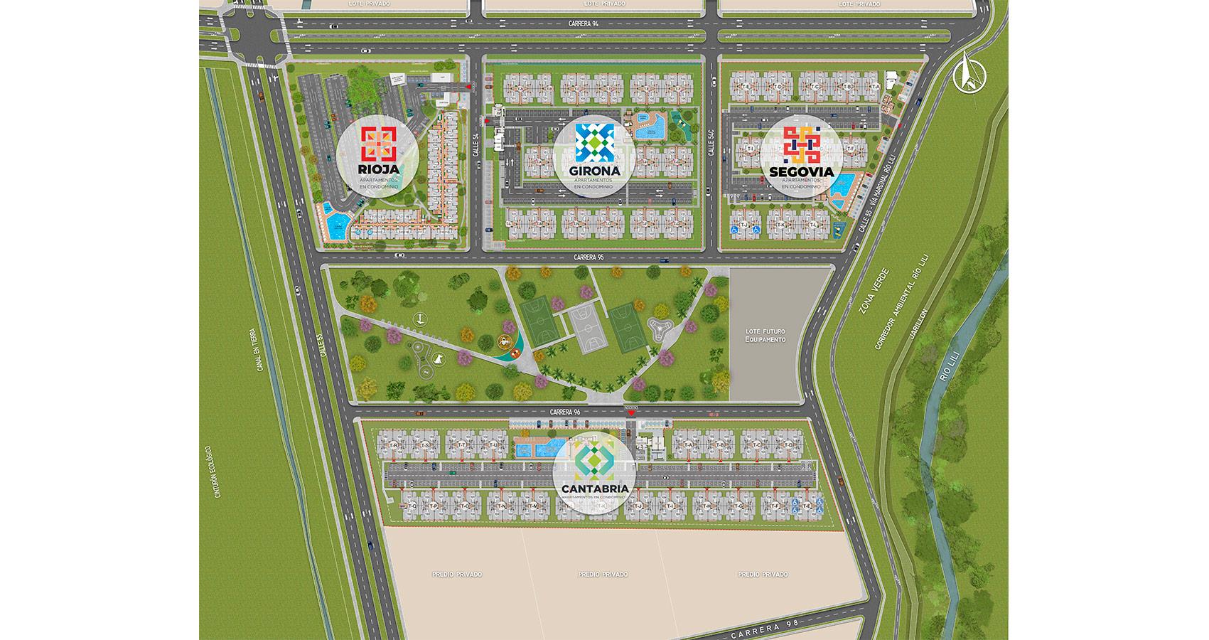Rioja Plano de proyecto de vivienda