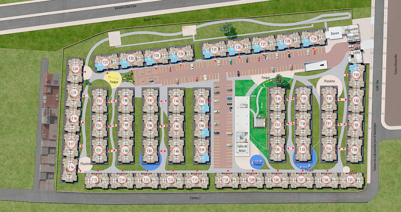 proyecto de apartamento en chia con subsidio de vivienda