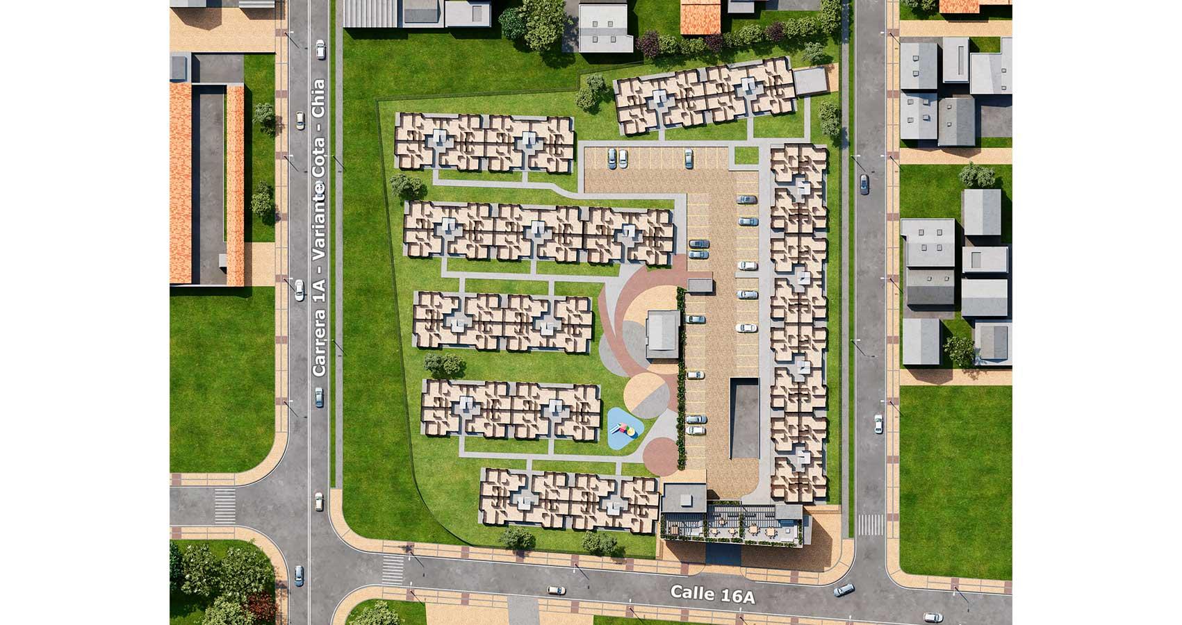 Reserva de Lunaria, proyecto de vivienda en Chía, subsidio de vivienda