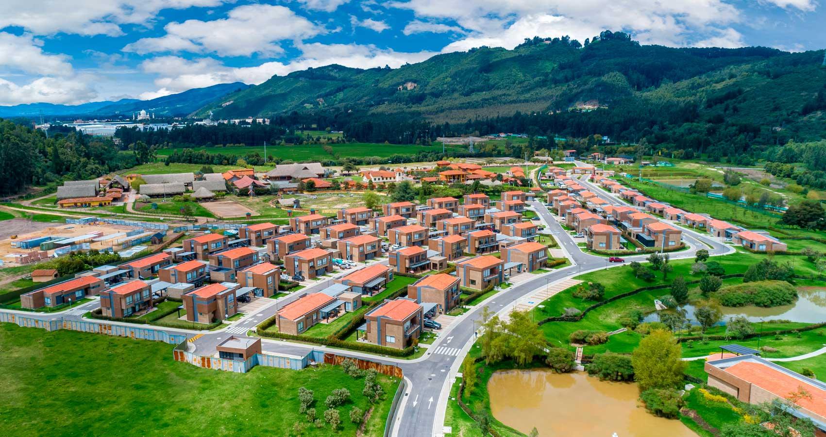 Proyecto de casas campestre Entrelmas Bosque Residencial
