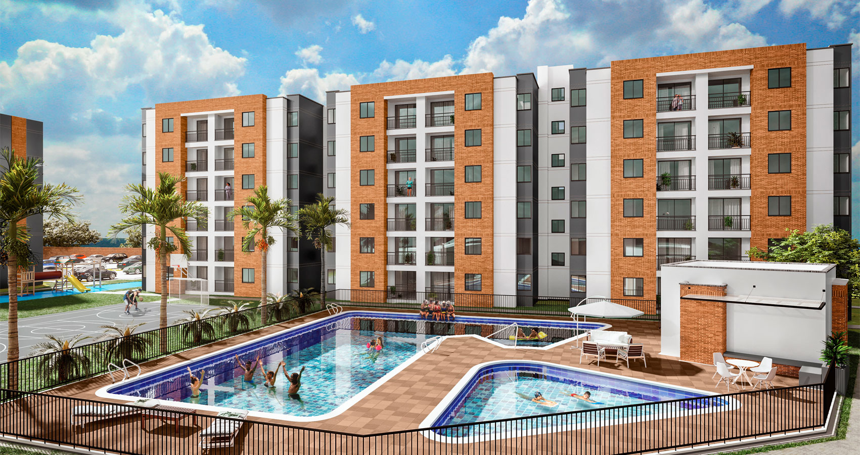 proyecto de apartamentos en Jamundi, con subsidio de vivienda, constructora bolivar