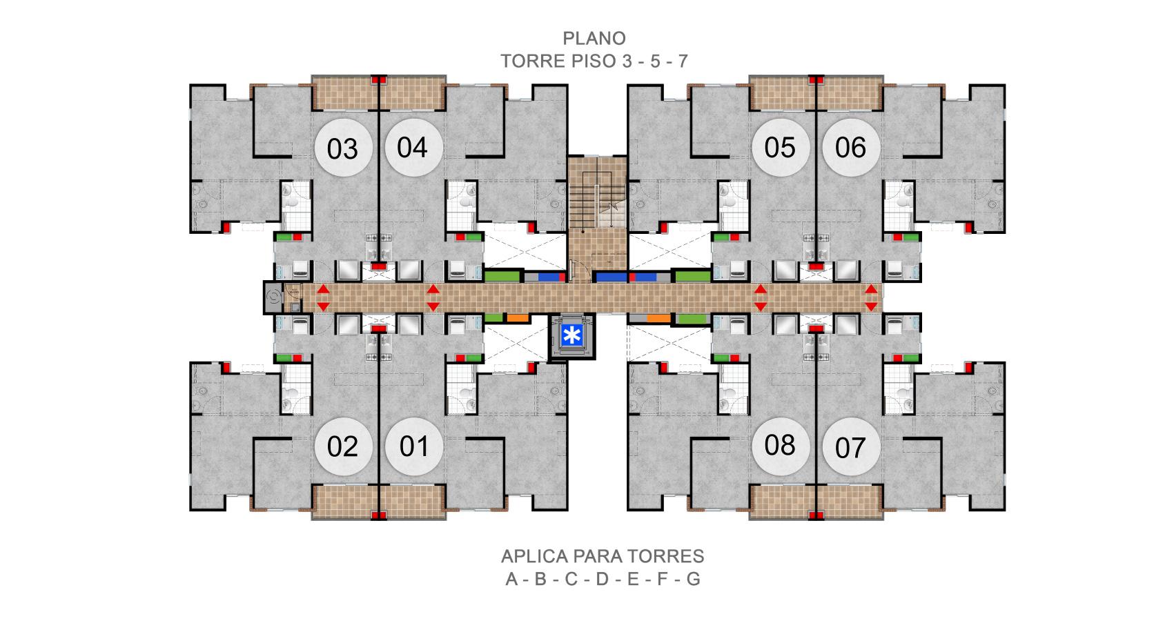 rosales proyecto de vivienda en valle del lili, constructora bolivar