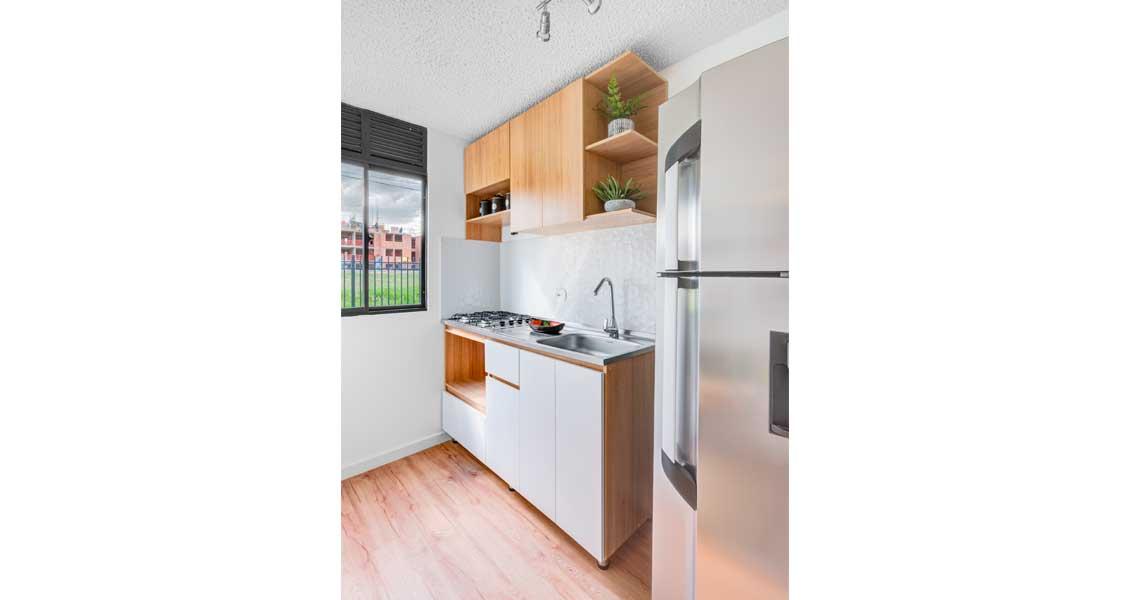 Apartamento tipo 50 Reserva de Lunaria, proyecto de vivienda en Chía, subsidio de vivienda
