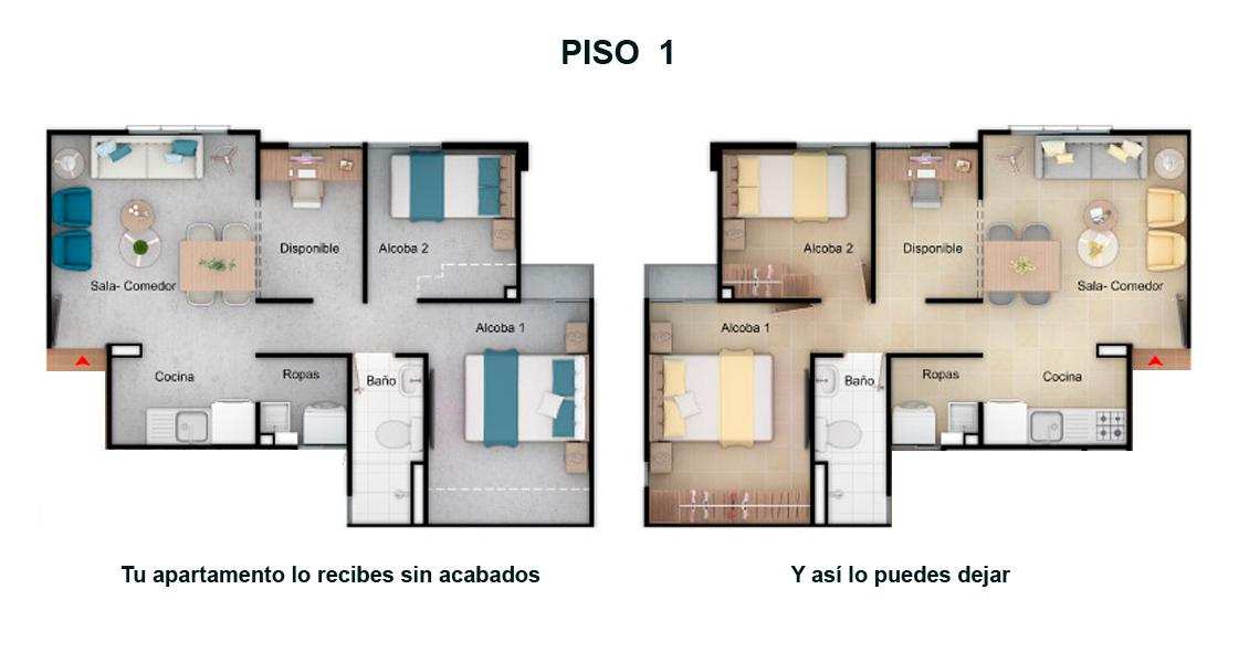 camino de girasoles constructora bolivar proyecto de vivienda
