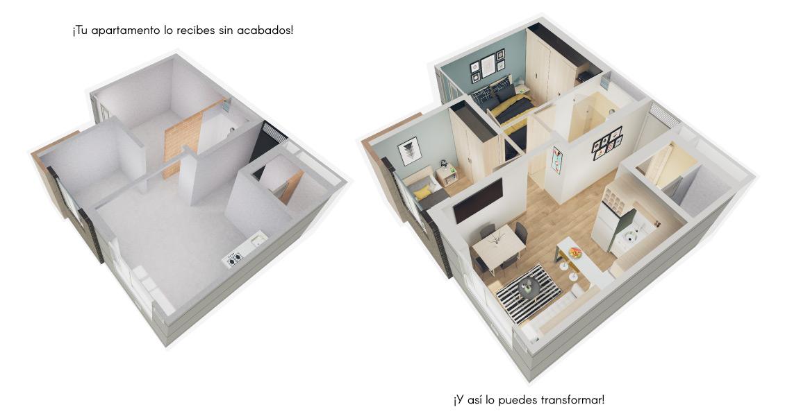 proyecto de vivienda en Fontibón, constructora Bolivar, Altos de fontibón