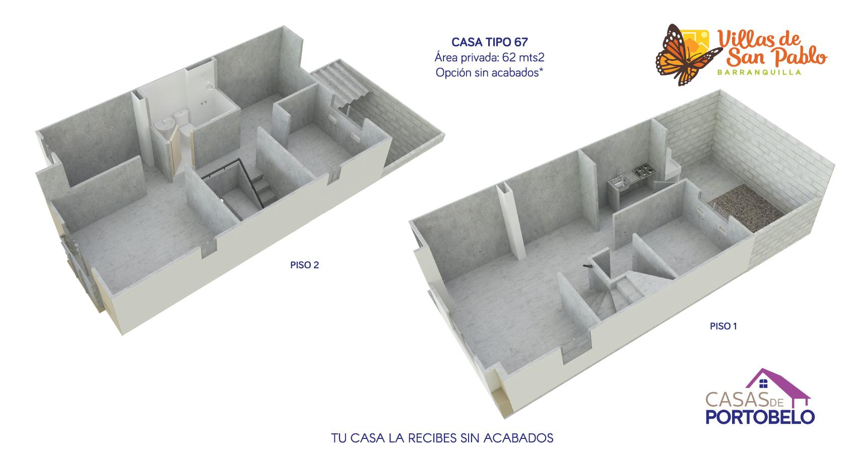 Casas de portobello vivienda constructora Bolívar Barranquilla