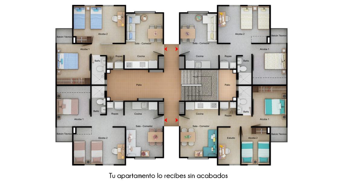Brisas Reserva de curinca Constructora Bolívar