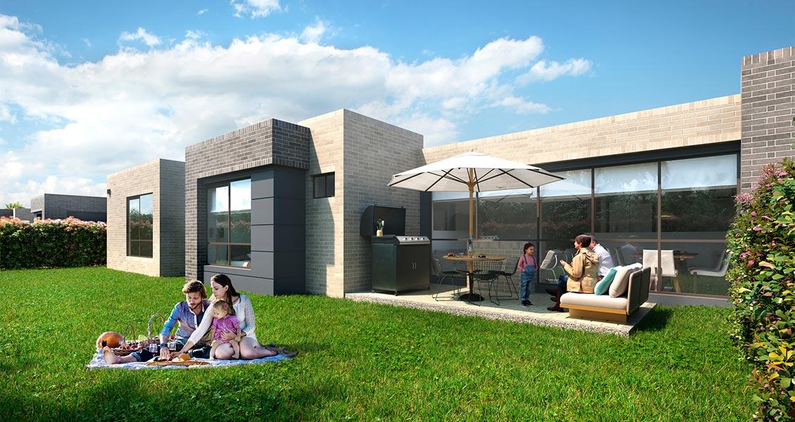 proyecto de casas, sabana de Bogotá entrelomas constructora bolívar