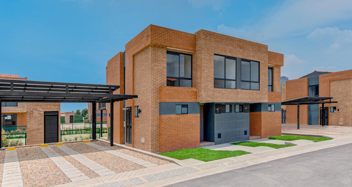 proyecto de vivienda Entrelomas casa sabana de Bogota